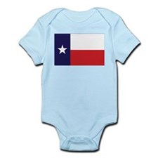 Texas Flag Infant Creeper