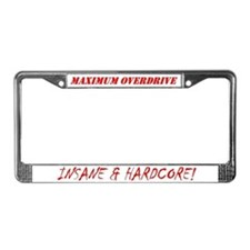 Urban Assault Vehicle License Frame