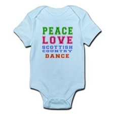 Peace Love Scottish Country Dance Designs Infant B