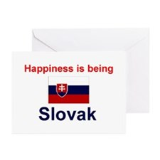 Slovak Happiness Greeting Cards (Pk of 10)