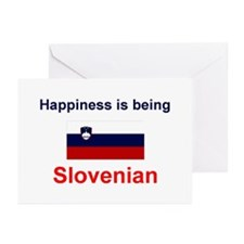 Slovenian Happiness Greeting Cards (Pk of 10)