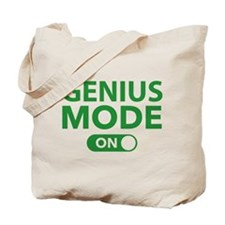 Genius Mode On Tote Bag