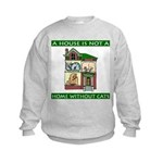 Cats Kids Sweatshirt