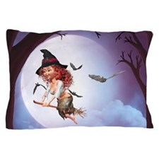 Little Witch 1 Pillow Case