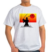 Samurai in Sun T-Shirt