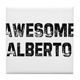 Awesome Alberto Tile Coaster