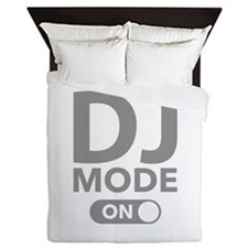 DJ Mode On Queen Duvet