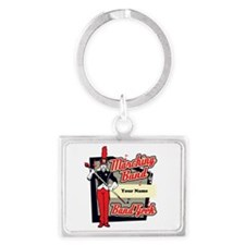 Marching Band Geek (Red) Landscape Keychain