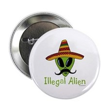 Illegal Alien Button