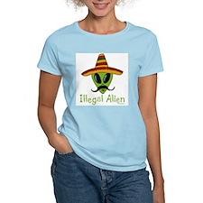 Illegal Alien Women's Pink T-Shirt