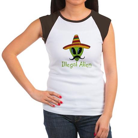 Illegal Alien Women's Cap Sleeve T-Shirt