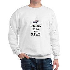 Drink Tea and Read Jumper