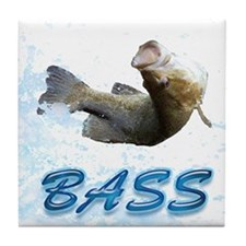 Bass Jump 13 Tile Coaster