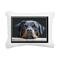 Rottweiler Rectangular Canvas Pillow