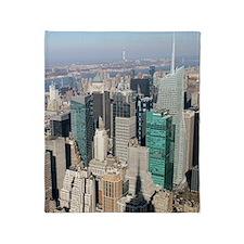 Unique New york city Throw Blanket
