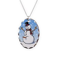 Naughty Snowman Necklace