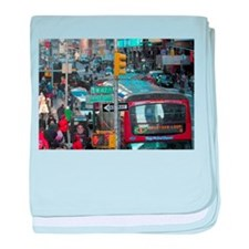 Cute Taxi baby blanket