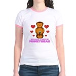 Honeybear Hearts Jr. Ringer T-Shirt