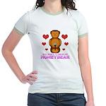 Honeybear Hearts Jr. Ringer T-Shirt