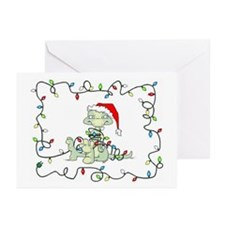 Lizard Lights Greeting Cards (Pk of 10)
