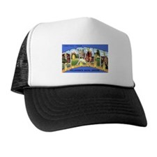 Norman Oklahoma Greetings Trucker Hat