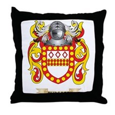 Burgess Coat of Arms Throw Pillow