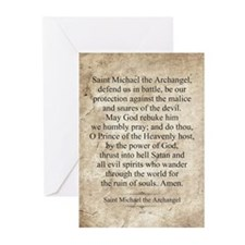 Saint Michael the Archangel Greeting Cards (Pk of