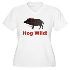 Hog Wild Plus Size T-Shirt