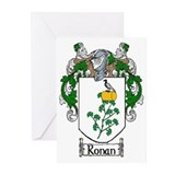Ronan Coat of Arms Greeting Cards (Pk of 10)