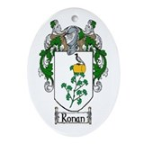 Ronan Coat of Arms Oval Ornament