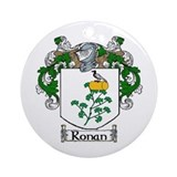 Ronan Coat of Arms Ornament (Round)