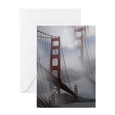 Golden State Bridge Greeting Card