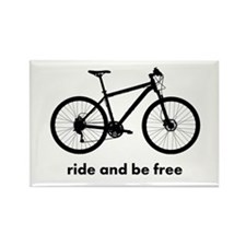 Custom Bicycle Rectangle Magnet (10 pack)