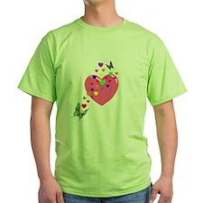 Hearts and Butterflies T-Shirt