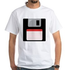 Red Floppy Disk Shirt