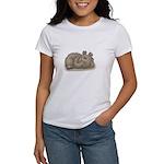 Silly Little Sleeping Bear Women's T-Shirt