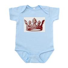 Medieval Red Crown Infant Bodysuit