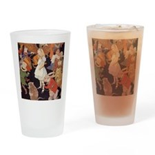 Alice in Wonderland 1923 illustrati Drinking Glass