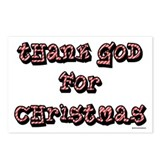 Thank God for Christmas Postcards (Package of 8)