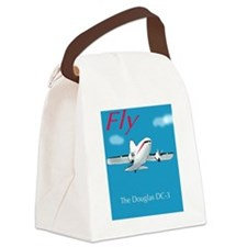 Douglas DC3 Canvas Lunch Bag