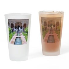 Alhambra water fountain Drinking Glass