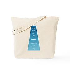 Water is My Sky Tote Bag