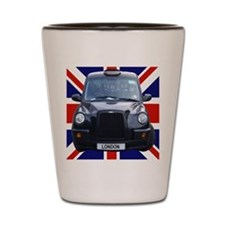 British black cab Shot Glass