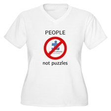 PEOPLE not puzzles T-Shirt