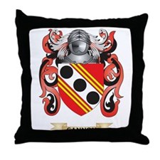 Cannon Coat of Arms Throw Pillow