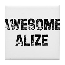 Awesome Alize Tile Coaster