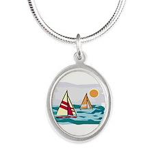 Sailboats Necklaces