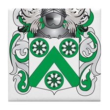 Carter Coat of Arms Tile Coaster