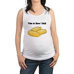 rolls.png Maternity Tank Top