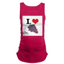 grapes.jpg Maternity Tank Top